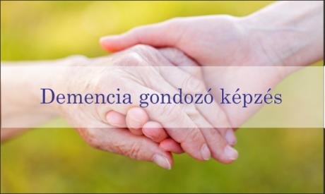 demencia gondozó képzés